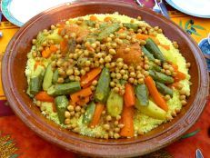 Couscous-stew