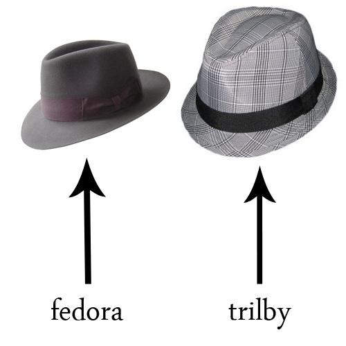 fedora vs trilby