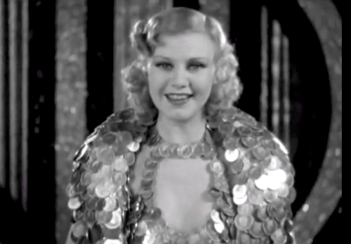 ginger rogers were in the money